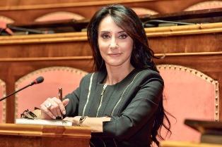"""RAI ITALIA: FRANCESCA ALDERISI OSPITE DE """"L'ITALIA CON VOI"""""""
