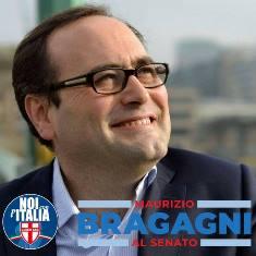 POLITICHE 2018/ BRAGAGNI (NOI CON L'ITALIA) PRESENTA LA SUA CANDIDATURA AL SENATO