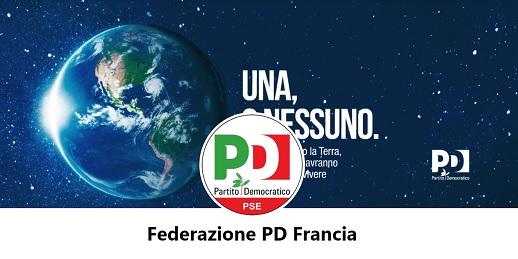Nasce la Federazione PD in Francia