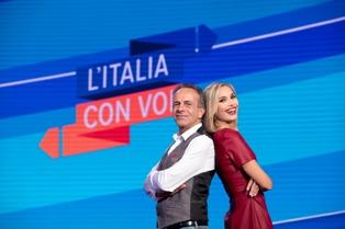 Rai Italia: moda e musica a L'Italia con voi