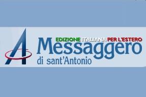 """LE STORIE DEI NOSTRI EMIGRATI DI CUI SI OCCUPA IL """"MESSAGGERO DI SANT'ANTONIO"""" PER L'ESTERO DI APRILE"""