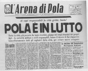 STRAGE VERGAROLLA/ GARAVINI (PD): L'ODIO TRA POPOLI PORTA SOLO MORTE - RICORDARE PER IMPARARE