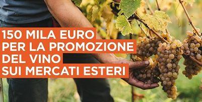 Vino: 150.000 da Regione Lazio per la promozione sui mercati esteri