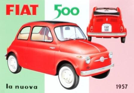 DOMANI I 60 ANNI DELLA FIAT 500