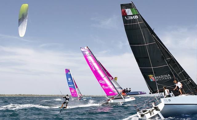 Nastro Rosa Tour 2021: presentato il giro d'Italia a vela della Marina Militare
