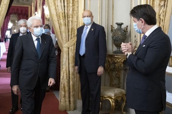 Crisi di Governo: Mattarella riceve il Premier Conte