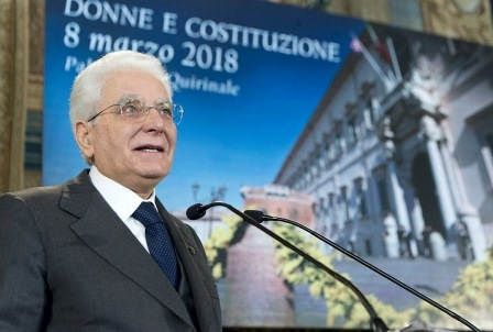 MATTARELLA: BUON 8 MARZO A TUTTE LE DONNE ITALIANE
