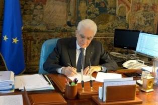 MATTARELLA: RESPONSABILITÀ COMUNE PER CONSOLIDARE LA FASE DI INCORAGGIANTE RECUPERO DELLA NOSTRA ECONOMIA