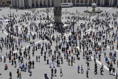 PAPA FRANCESCO: NOI SIAMO L'EREDITÀ DI DIO