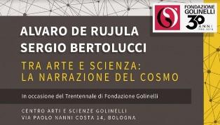 """""""TRA ARTE E SCIENZA: LA NARRAZIONE DEL COSMO"""": DE RUJULA (CERN) AL CENTRO DI ARTI E SCIENZE GOLINELLI DI BOLOGNA"""
