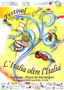 L'ITALIA OLTRE L'ITALIA: A GINEVRA IL FESTIVAL INTERNATIONAL D'ITALIE