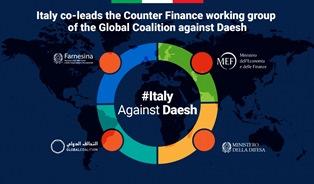 L'ITALIA AD AMMAN PER LA RIUNIONE DEL COUNTER ISIL FINANCE GROUP