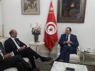 MISSIONE DEL MINISTRO ALFANO A TUNISI