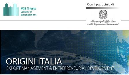 ORIGINI ITALIA: IL BANDO 2018
