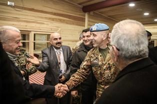 UNIFIL: PEACEKEEPERS ITALIANI INCONTRANO IL PRESIDENTE DELLE MUNICIPALITÀ E I SINDACI LIBANESI