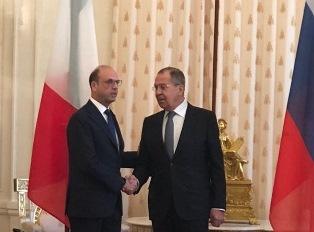 ALFANO A MOSCA: L'INCONTRO CON LAVROV