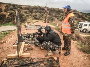 """UNIFIL: PRIMA EDIZIONE CORSO """"SHARPSHOOTER SKILLS"""" PER LE FORZE DI SICUREZZA LIBANESI"""