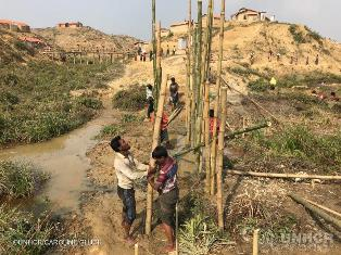 UNHCR: DAI MONSONI SERI PERICOLI PER I RIFUGIATI ROHINGYA IN BANGLADESH