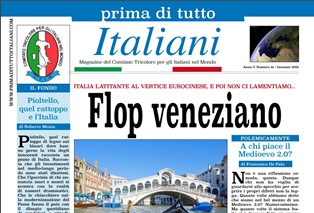 """""""FLOP VENEZIANO"""": ONLINE IL NUOVO NUMERO DI """"PRIMA DI TUTTO ITALIANI"""""""