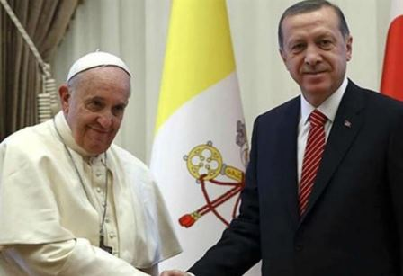 PAPA FRANCESCO INCONTRA ERDOGAN