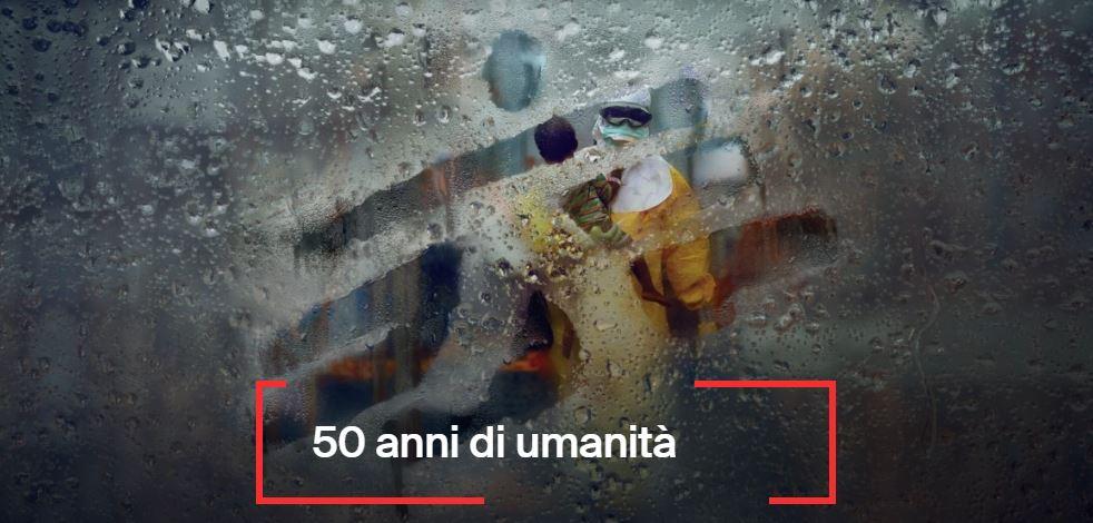 """Rai Italia: i 50 anni di MSF a """"L'Italia con voi"""""""