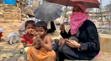 Bangladesh: 50.000 sfollati a causa dell'incendio in 4 campi rifugiati rohingya