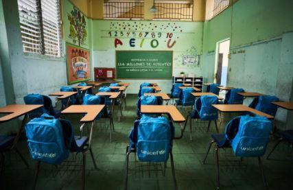 Scuola e Covid-19: 114 milioni di bambini in America Latina e Caraibi senza istruzione