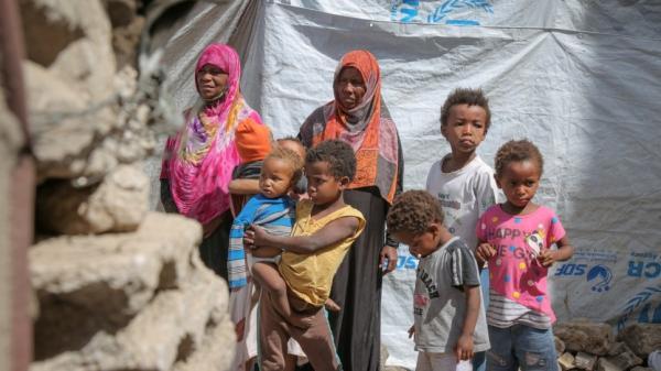 Yemen: allarme per i civili sfollati dall'UNHCR