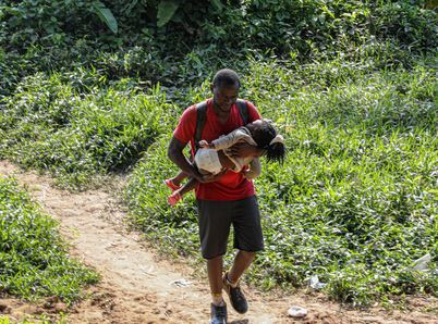 Migrazione verso il nord: quadruplicati i bambini che attraversano la Giungla di Darien