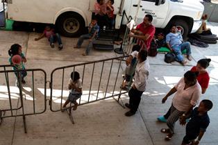 MESSICO: APPELLO UNICEF PER TUTELARE I CIRCA 3.000 BAMBINI MIGRANTI HANNO VIAGGIATO DAL GUATEMALA AL MESSICO DA METÀ GENNAIO