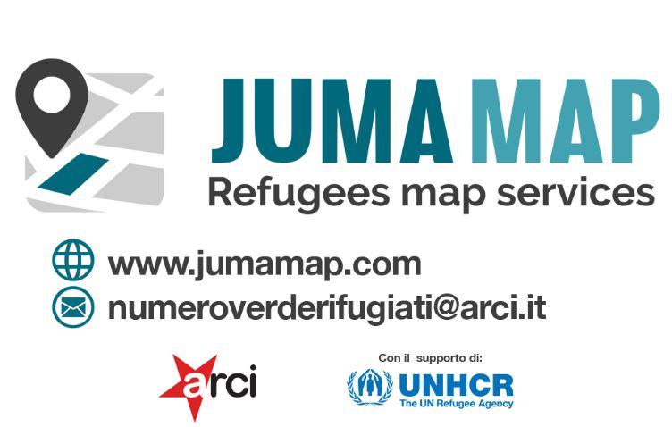 JumaMap - Services for Refugees: si rinnova la piattaforma di ARCI e UNHCR