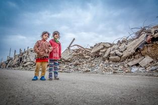 ALLARME UNICEF IN IRAQ: PROTEZIONE PER OLTRE 160.000 BAMBINI SFOLLATI COLPITI DA UN INVERNO RIGIDO
