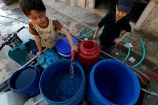 L'UNICEF NEL NORD-EST DELLA SIRIA: FUORI USO CENTRALE IDRICA CON IMPATTO SU 400.000 PERSONE
