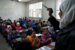 SIRIA/ UNICEF: 2,8 MILIONI DI BAMBINI SENZA ISTRUZIONE