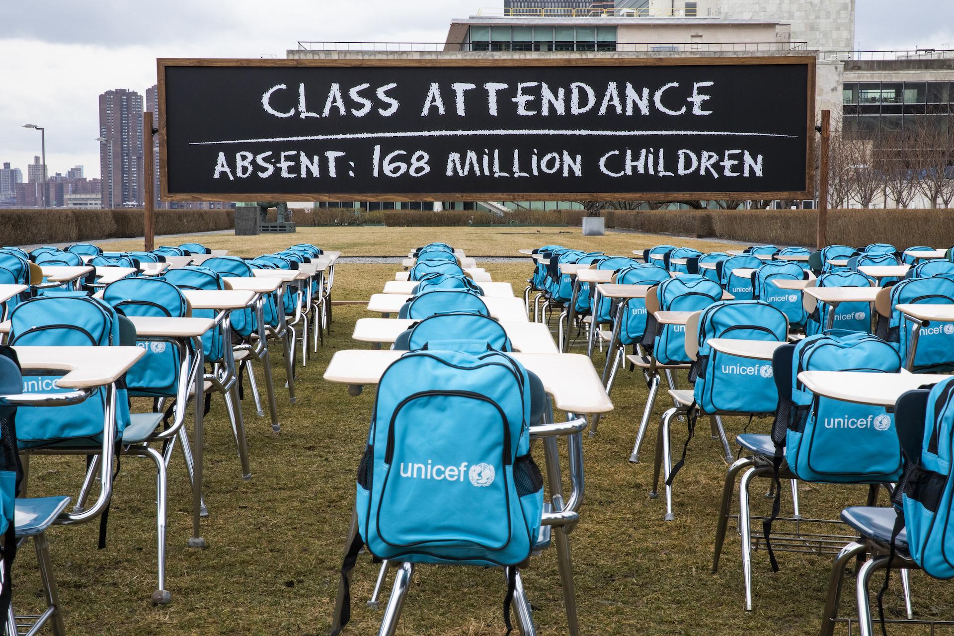 UNICEF: scuole chiuse quasi un anno per 168 milioni di studenti a causa del COVID-19
