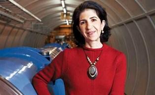 FABIOLA GIANOTTI (CERN) A GINEVRA CON LA CCIS