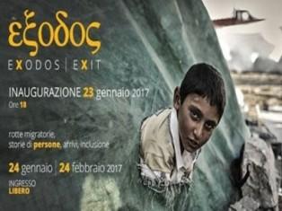 """NUOVA TAPPA IN PIEMONTE PER LA MOSTRA """"EXODOS"""""""