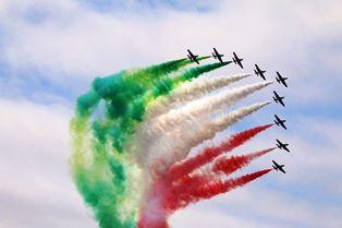 """""""FRECCE TRICOLORI"""" PREMIATE ALL'AIR SHOW DI FAIRFORD"""