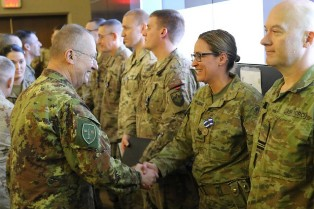 NATO: IL COMANDANTE DEL JOINT FORCE COMMAND IN AFGHANISTAN