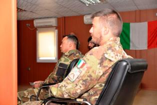 AFGHANISTAN: MILITARI ITALIANI TENGONO LEZIONI DI DIRITTO INTERNAZIONALE A FAVORE DELL'AFGHAN NATIONAL ARMY
