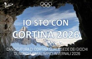 CORTINA 2026: L'ABM SOSTIENE LA CANDIDATURA PER LE OLIMPIADI E PARALIMPIADI INVERNALI