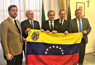 IL SOTTOSEGRETARIO MERLO RICEVE DELEGAZIONE VENEZUELANA ALLA FARNESINA