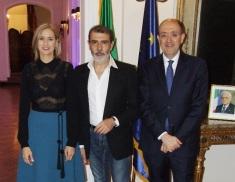 SHOW D'ALTA MODA ALL'AMBASCIATA D'ITALIA A BELGRADO CON LO STILISTA MIGLIONICO