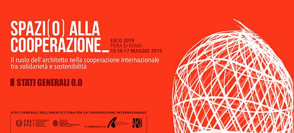 IL RUOLO DEGLI ARCHITETTI ITALIANI NELLA COOPERAZIONE A EXCO 2019