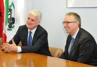 IL PRESIDENTE DELLA REGIONE MARCHE INCONTRA IL MINISTRO PER LA DIASPORA ALBANESE