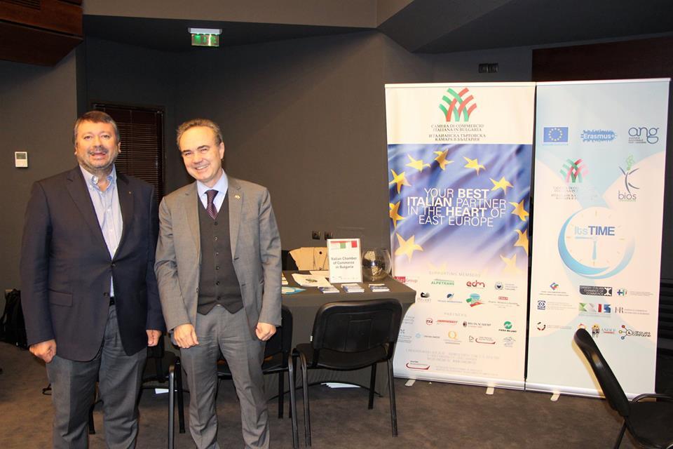 SOFIA: GRANDE SUCCESSO PER IL DESK CCIB ALLA FIERA STUDY IN ITALY 2018