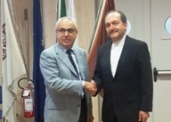 UNIONCAMERE VENETO: IL PRESIDENTE MARIO POZZA INCONTRA IL CONSOLE IRANIANO AMIR MASOUD MIRI