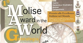 "AL VIA IL PRIMO ""MOLISE AWARD IN THE WORLD – MAW-G"""
