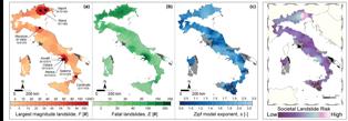 RISCHIO SOCIALE DA FRANA: ITALIA A MACCHIA DI LEOPARDO