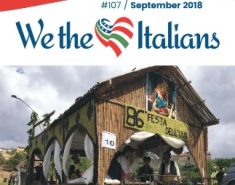 ONLINE IL NUMERO DI SETTEMBRE DEL MAGAZINE WE THE ITALIANS